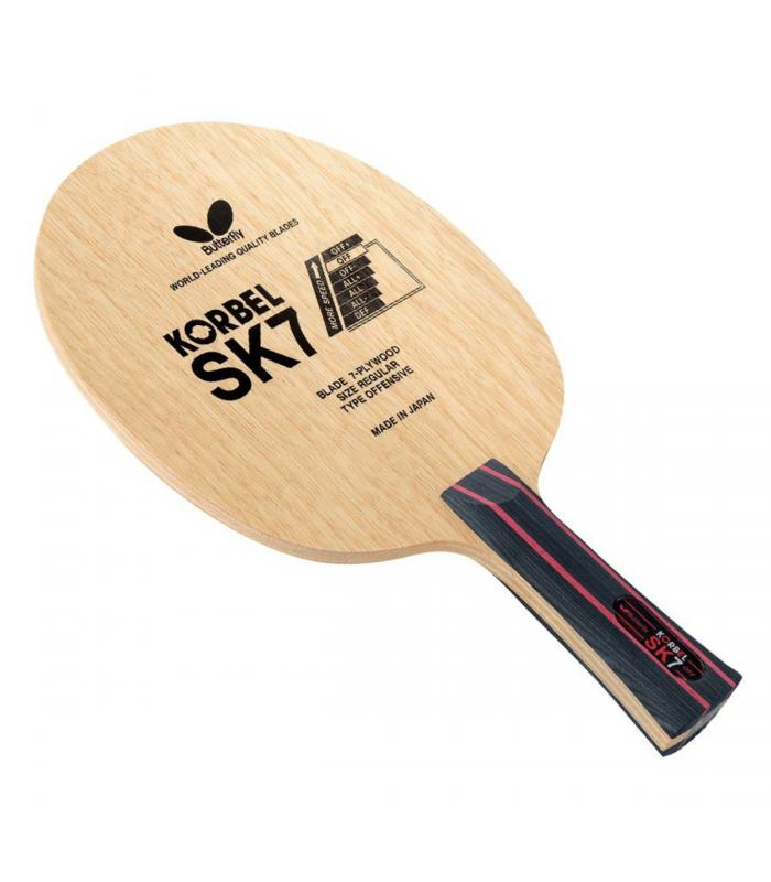 Butterfly Korbel SK7 FL Flared Blade Table Tennis Racket Blade Ping Pong